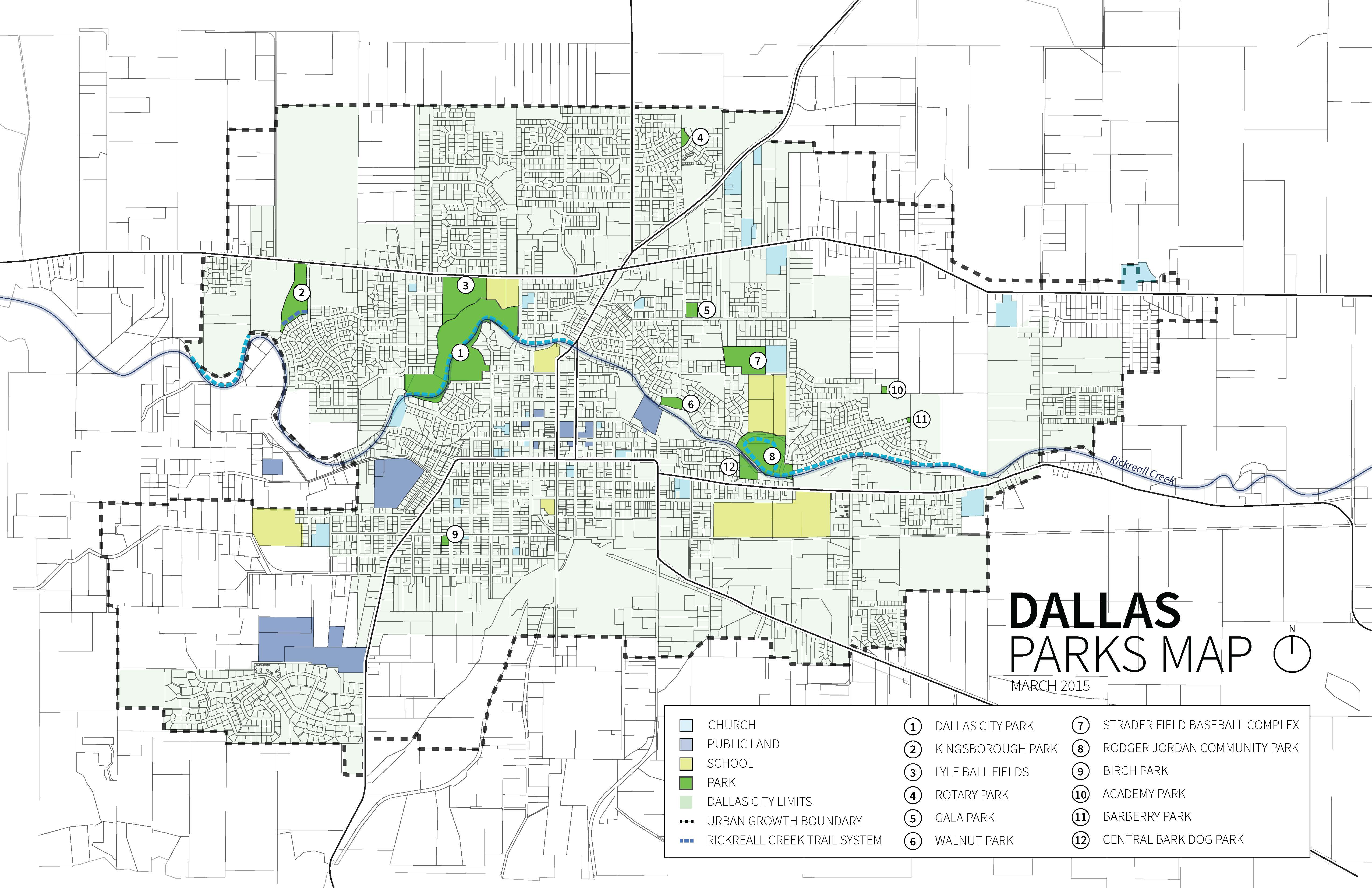 Park Cities Dallas Map.Park System Inventory Dallas Parks Master Plan